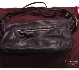 Coach Tassle Signature Shoulder Bag
