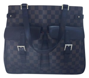 Louis Vuitton Lv Uzes Tote in Damier Ebene
