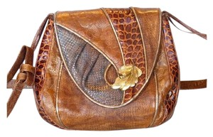Sharif Vintage Reptile Skins Shoulder Bag