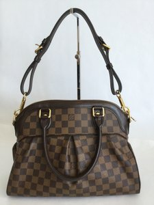 Louis Vuitton Trevi Satchel in Damier Ebene