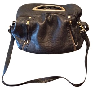 Adrienne Vittadini Vintage Leather Cross Body Bag