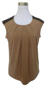 Anne Klein Top Brown