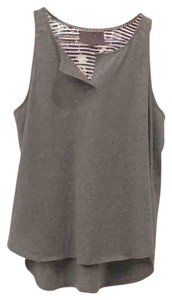 Patterson J. Kincaid Top Gray front, blue and white back