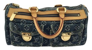 Louis Vuitton Satchel in Denim