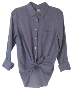 J.Crew Button Down Shirt Heathered blue