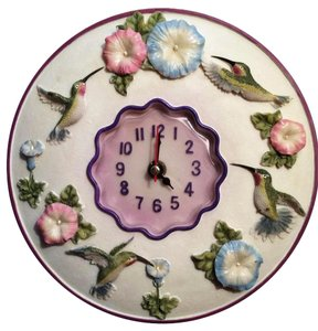 Other Hummingbirds Clock, 8