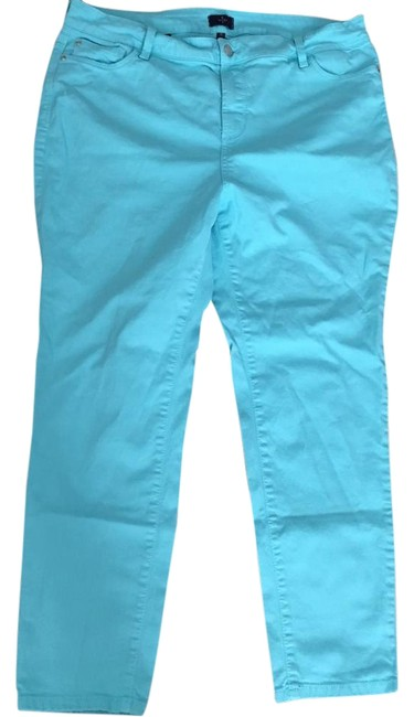 Item - Blue Ankle Skinny Straight Leg Jeans Size 18 (XL, Plus 0x)