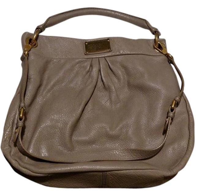 Item - Classic Q Hillier Convertible Beige Leather Hobo Bag