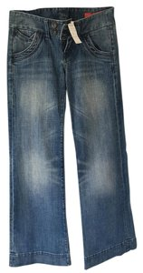 Express Flare Leg Jeans-Light Wash