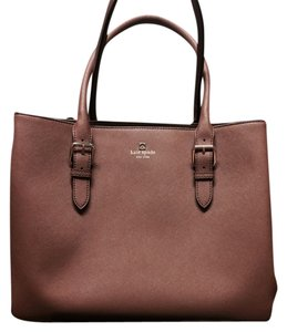 Kate Spade Tote in Deep Toasted Almond
