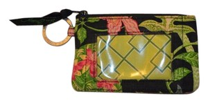 Vera Bradley Small Wallet Wristlet in black