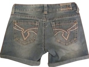 Hydraulic Mini/Short Shorts blue denim