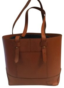 Joy Gryson Tote in Burnt Orange