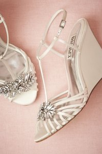 Badgley Mischka Bridal Shoes Wedges Wedding Shoes