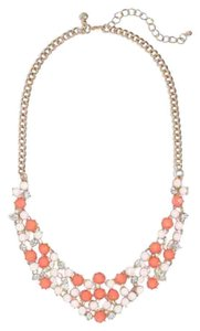 J.Crew Factory Bright Dot Necklace in Papaya