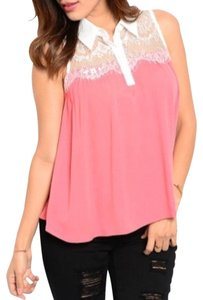 Chic Fashion Top Pink