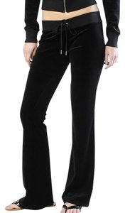Juicy Couture Velour Track Flare Skinny Pants Darkness Falls