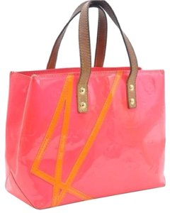 Louis Vuitton Robert Wilson Satchel in Pink Orange