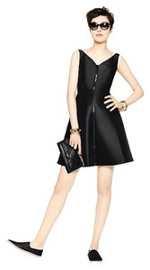Kate Spade Zipper Zip Cocktail Lbd Dress
