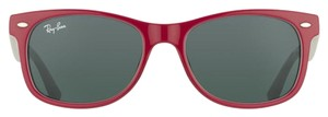 Ray-Ban NEW! Kids New Wayfarer Sunglasses RJ9052S, Berry Red/Grey, 48mm