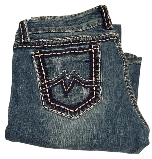 Item - Medium Wash with Some White Stitching Boot Cut Jeans Size 30 (6, M)