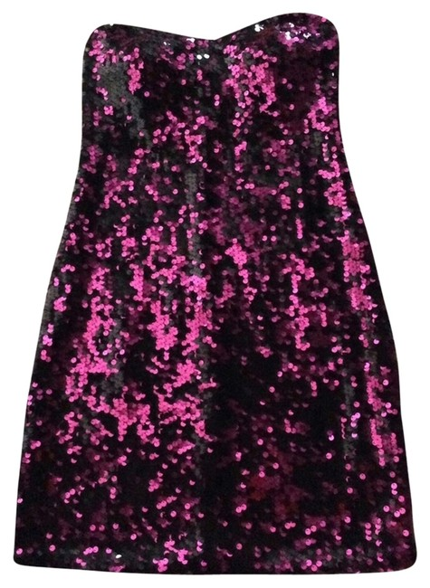 Preload https://item1.tradesy.com/images/as-u-wish-dress-pink-and-black-sequin-1704780-0-1.jpg?width=400&height=650