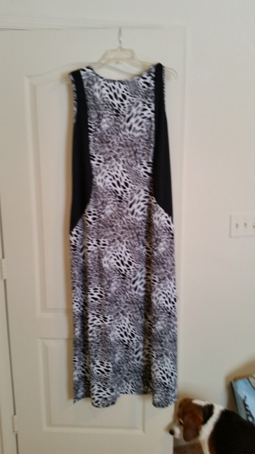 black print Maxi Dress by NY Collection