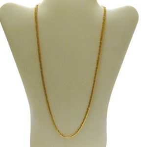Milor Authentic Milor Italy 3.2 mm 14K 24 Inch Rose Gold Necklace (9.27 Grams)
