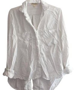 Cloth & Stone Anthropologie Button Down Shirt White