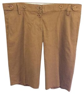 Chloé Walking Bermuda Shorts Brown