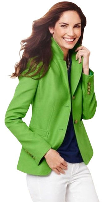 Item - Green Cavalry Twill Jacket Skirt Suit Size 4 (S)