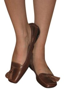 Cole Haan Tassels Loafer brown Flats