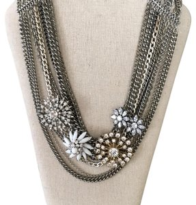 Stella & Dot Metropolitian Mixed Chain Necklace