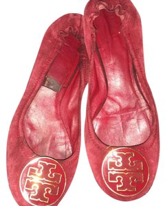 Tory Burch Ox blood red Flats
