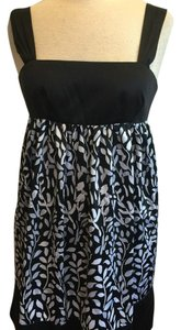 Max and Cleo short dress Black with White on Tradesy