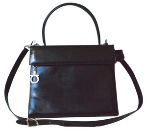 Salvatore Ferragamo 2 Way Patent Leather Shoulder Bag