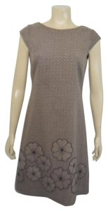 Kay Unger short dress BROWN on Tradesy