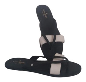 Kate Spade Nwot black and white Sandals