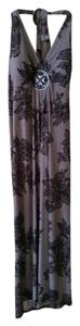 black print Maxi Dress by Carole Little Chic