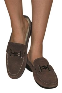 Cole Haan Shearling Suede brown Mules