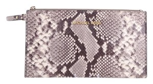 Michael Kors Wristlet in Black/Grey/White