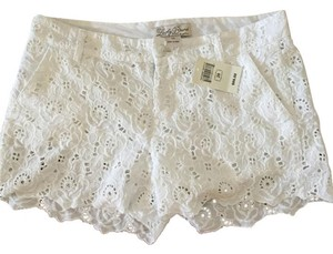Lucky Brand Mini/Short Shorts White