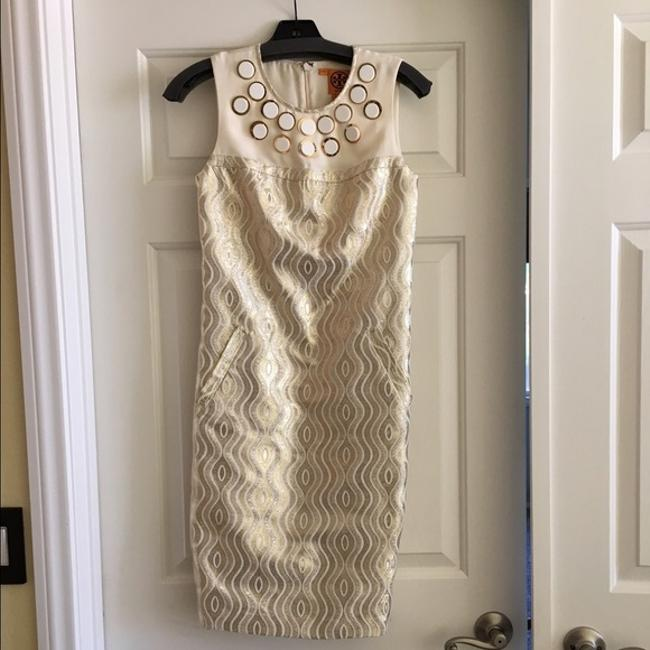 Item - Gold Clayton Shift Short Night Out Dress Size 4 (S)