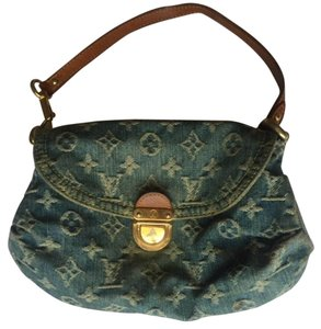 Louis Vuitton Mini Pleaty Monogram Lv Shoulder Bag