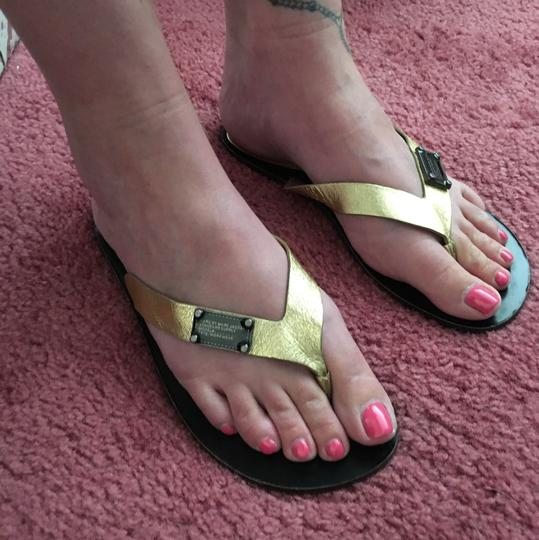 Marc by Marc Jacobs (7) Marc By Marc Leather Flip Flops