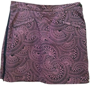 Dockers short dress purple and black (short) on Tradesy