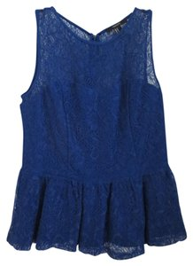 Forever 21 Royal Blue Blouse Size 8 M Tradesy