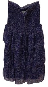 American Eagle Outfitters short dress Purple and Blue on Tradesy