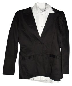 SEXY 3-piece suit costume pants suspenders jacket blouse SIZE SMALL