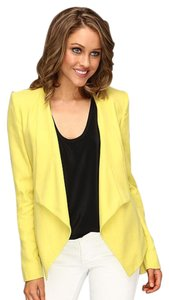 BCBGMAXAZRIA Abree dark lemon jacket
